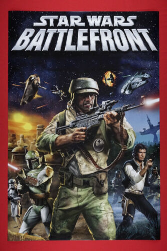 Star Wars Battlefront Video Game Han Solo Boba Fett Rebel  Poster 24X36  SWBF