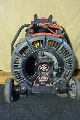 Ridgid Seesnake Max Rm200a Self Leveling Picture 165 512hz Counter Plus