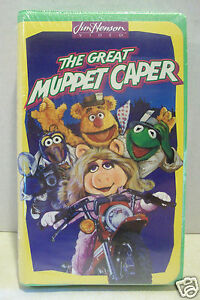 Jim Henson Video: The Great Muppet Caper VHS (1995) - BRAND NEW SEALED Kermit