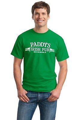 Paddys Irish Pub T Shirt Funny Its Always Sunny In Philadelphia Bar Tv Show Fx