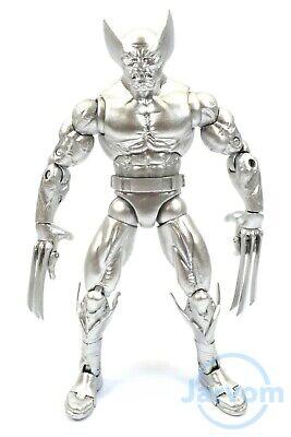 "Marvel Legends 6"" Inch Toybiz XMen Silver Wolverine TRU Exclusive Loose Complete"