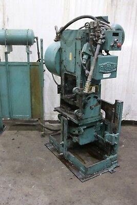 25 Ton Tishken Model Cot-8 Cutomatic Cutoff Press Yoder 70958