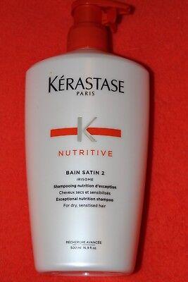 Tolle Satin (500ml KERASTASE SHAMPOO bain satin Nr.2 NUTRITIVE +TOLLE ZUGABE)