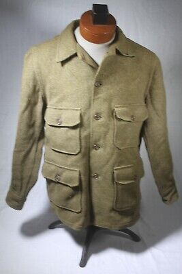 1940's  USAAF US Air Force A-1 heavy wool flying shirt  size  large