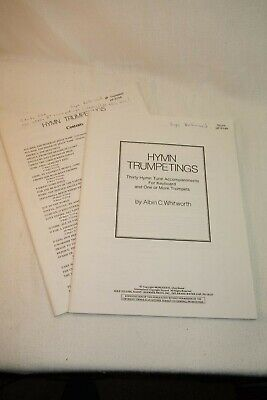 Hymn Trumpetings by Albin Whitworth Classical Hymns Trumpet
