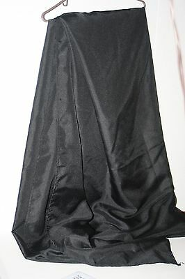 "Black Tablecloth 72""X120"" Polyester Wedding Banquet Party"