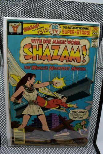 Shazam #25 DC Bronze Age Comics 1976 1st Appearance & Origin of Isis 5.0
