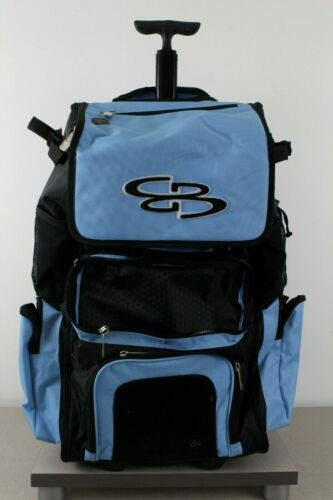 Boombah Baseball Softball Rolling 2.0 Superpack Blue Black MISSING FRONT FLAP