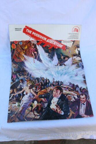 THE POSEIDON ADVENTURE PRESS KIT, 20TH CENTURY FOX. FOLDED. GD CONDITION.