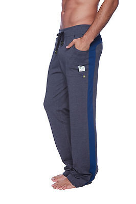 Eco Track Pant (Eco-Track Pant (Charcoal w/Royal Blue))