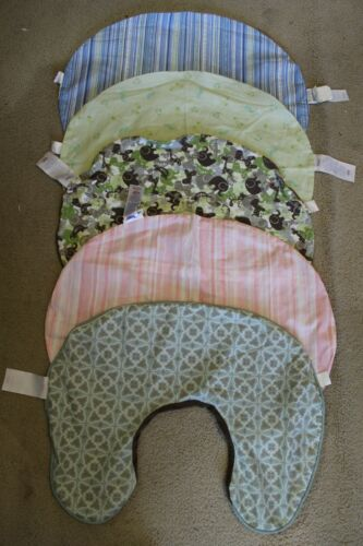(5) boppy covers lot(boppy pillow not included!)