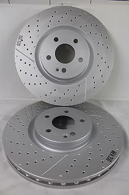 FOR MERCEDES A140 A160 A170 CDI 1997-2004 FRONT VENTED BRAKE DISCS SET PAD KIT