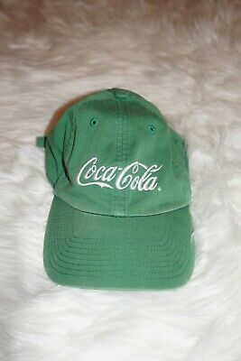 Vintage Coca Cola Hat Cap Atlanta Green