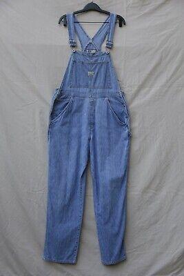 Vintage Overalls & Jumpsuits • Vintage OLD NAVY DENIM BIB JEAN CARPENTER MOM OVERALLS SOFT• Blue Jeans Sz L $49.99 AT vintagedancer.com