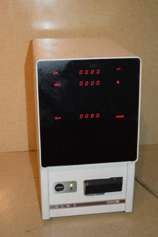 RADIOMETER COPENHAGEN OSM3 BLOOD & GAS ANALYZER