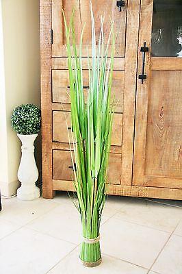 120 cm EDLES Zuckerrohr GRAS Dekogras Deko Kunstgras Ziergras Kunstpflanze