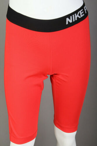 Mens Nike Pro Dri-Fit Compression Shorts w/o Cup Pocket ~ Red ~ Mens Small