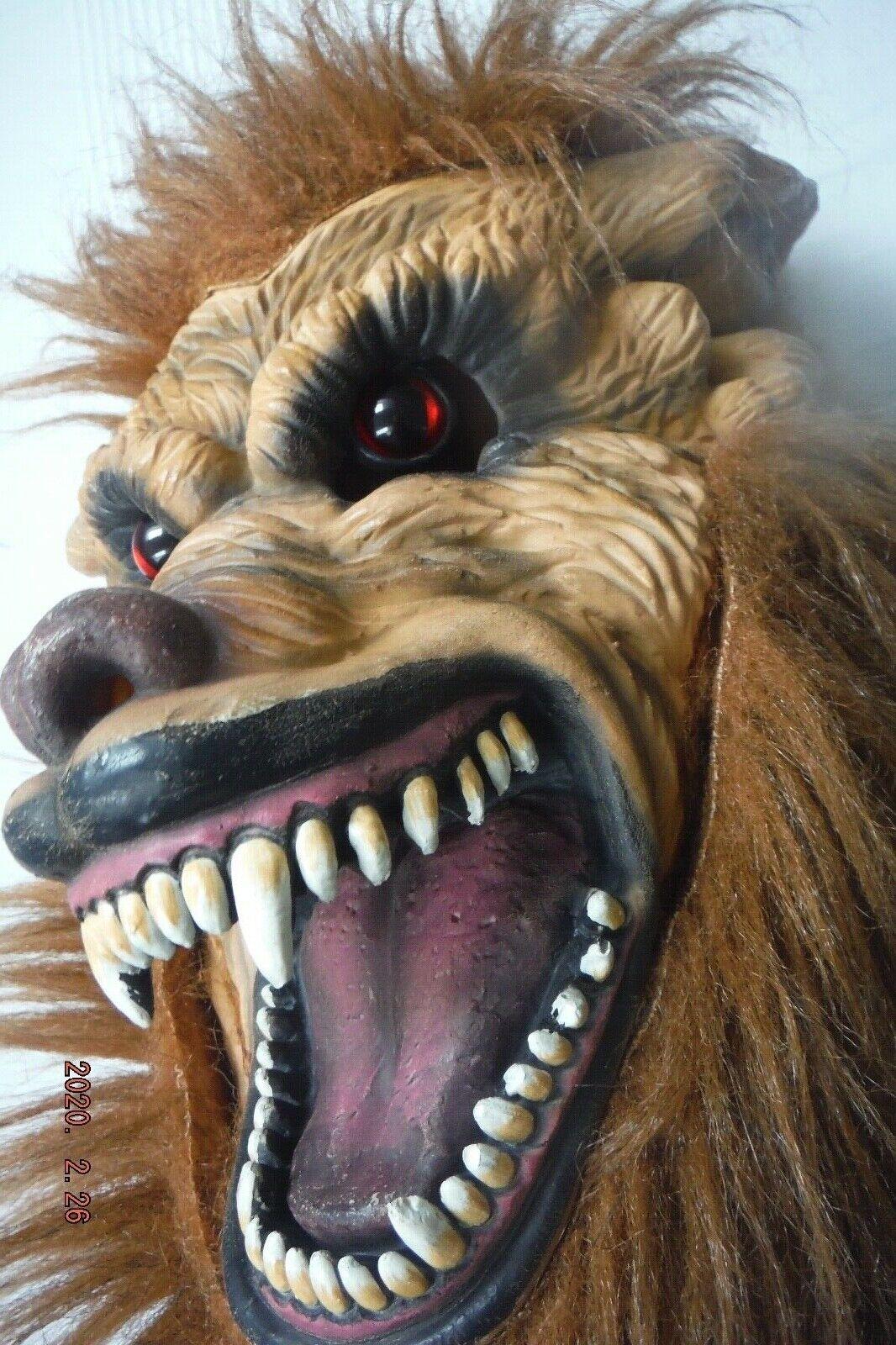 Halloween Horror Werwolf Maske