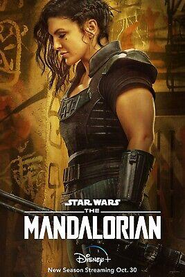 The Mandalorian Season 2 TV Poster (24x36) - Pascal, Gina Carano, Cara Dune  v5