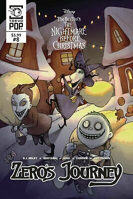 Nightmare Before Christmas #8 Zero's Journey Tokyopop COVER A 1ST PRINT