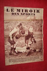 Le miroir des sports 22 fevrier 1938 n 991 bon etat ebay for Le miroir des sports