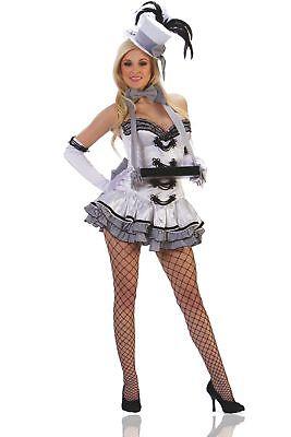 Starline Women's White Cigarette Girl Costume