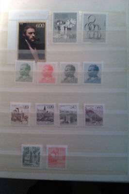 Yugoslavia Mint Stamp collection 1979
