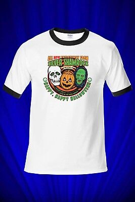 Silver Shamrock 1978 RINGER Tee T-SHIRT FREE S&H USA Halloween Michael Myers