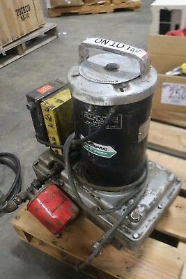 Enerpac Hydraulic Pump 13.541 Cu In 57 Psi 10000 Psi 115230v