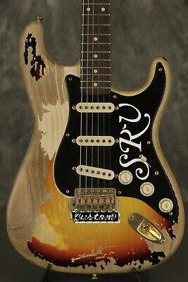 04 Fender SRV Number One Stevie Ray Vaughan Custom Shop Stratocaster Masterbuilt