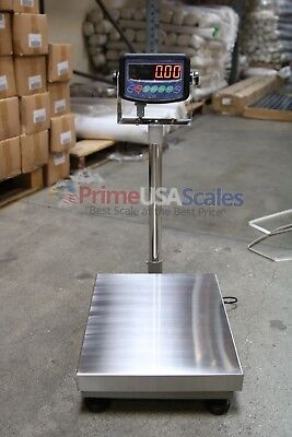 600 Lb Digital Floor 16 X 21 Bench Scale Electronic Platform Shipping 300 Kg