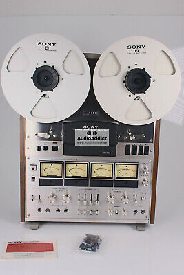 SONY TC-788-4 Reel-to-Reel Belts with//without a pdf MANUAL on CD /& FREE shipping