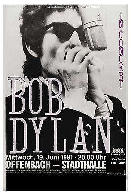 Bob Dylan at Germany Concert Poster 1991