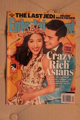 Entertainment Weekly Nov 10 2017 Crazy Rich Asians Constance Wu No Address Label