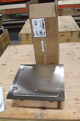 New In Box Hoffman Afm12126ss Flush Mount Hinged Enclosure Stainless