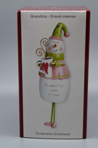 "American Greetings Heirloom Ornament ""GRANDMA""  -NEW OLD STOCK # 233"