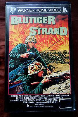 Blutiger Strand - Rip Torn - Burr DeBenning - Warner Home Video 1967 60er VHS ** (Strand Videos)