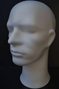 tete de mannequin homme pour casque chapeau ou perruque. Black Bedroom Furniture Sets. Home Design Ideas