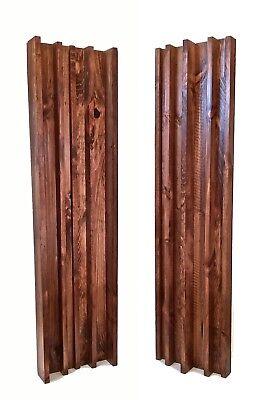 COLUMN SLAT DIFFUSER PAIR - Special Walnut (4ft x 1ft)