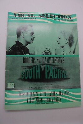 VINTAGE SHEET MUSIC VOCAL SELECTIONS SOUTH PACIFIC  RODGERS & HAMMERSTEIN