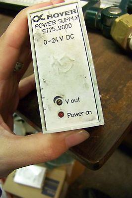 Hoyer 5775.9000 24v Ac Power Supply