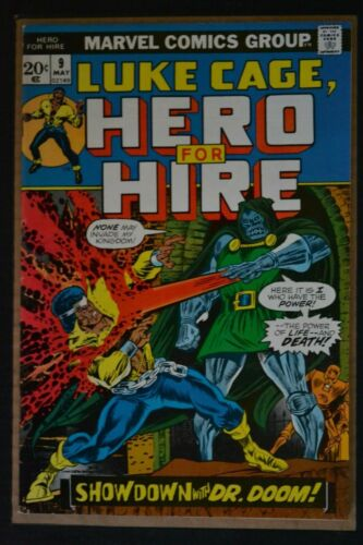 HERO FOR HIRE # 9 : VERY FINE : MAY 1973 : MARVEL COMICS.