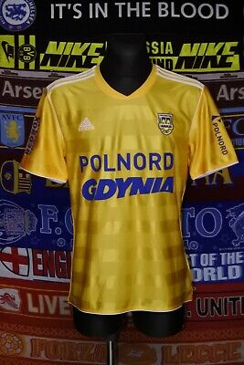 5/5 Arka Gdynia adults L 2011 MINT rare home football shirt trikot soccer image
