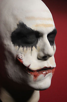 Heath Ledger 1:1 Life Mask in Joker - Joker Heath Ledger Makeup