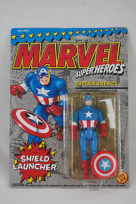 Marvel Super Heroes  Captain America  Toy Biz 1993  New In Sealed Packaging