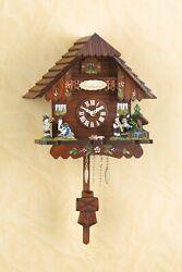German Black Forest Cuckoo Clock Quartz movement cuckoo Musikstadl