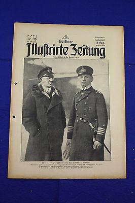 BERLINER ILLUSTRIRTE ZEITUNG (1918 Nr. 10) Kriegsblinde/1. Weltkrieg/WW 1