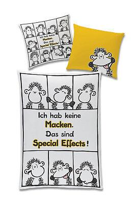 Sheepworld Bettwäsche Schäfche, Ich hab keine Macken,Baumwolle 140x200 Effects