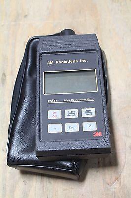 3m Photodyne Inc 17xtf Fiber Optic Power Meter