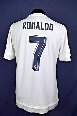Ronaldo Real Madrid jersey XL shirt adidas original 2015 2016 XL ig93 d12af238d